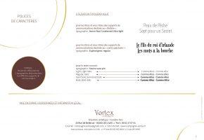 CHARTE GRAPHIQUE CIE VORTEX P.7