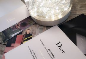 PHOTO INVITATIONS DIOR
