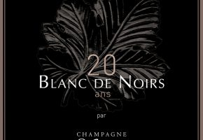 Invitation 20 ans Blanc de Noirs Mailly RECTO